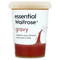 essential Waitrose gravy