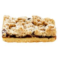 Mincemeat & Cranberry Crumble Slice with Brandy Mincemeat