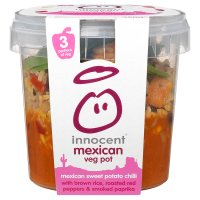 Innocent mexican sweet potato chilli