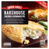 Waitrose chicken & asparagus topcrust pie