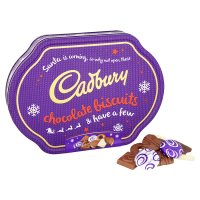 Cabury chocolate biscuit collection