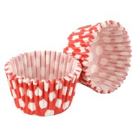 Tala red&white spot cupcake cases, pack of 32