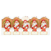Lindt 5 Milk Chocolate Santas