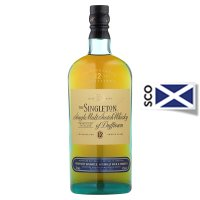 Singleton single malt scotch 12 years old