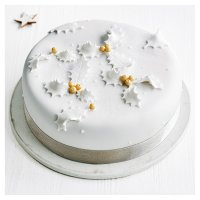 Fiona Cairns Christmas Rose Cake (Gift Boxed)