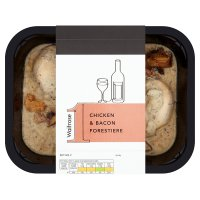 Waitrose 1 chicken & bacon forestiere
