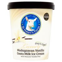 St Helen's Farm goat's milk ice cream vanilla