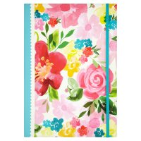 Waitrose A4 Floral Notebook