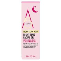 Argan+ 5 Moroccan Rose Night Time Oil