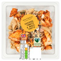Waitrose Good To Go tomato & basil chicken pasta salad