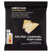 Waitrose Heston salted caramel popcorn