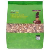 Waitrose LOVE life high fibre muesli