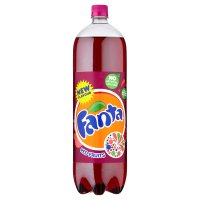 Fanta red fruits plastic bottle