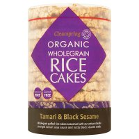 Clearspring wholegrain rice cake
