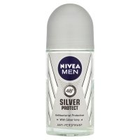 Nivea for Men anti-perspirant roll-on silver protect