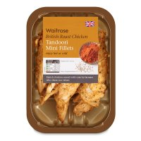 Waitrose British tandoori roast chicken mini fillets