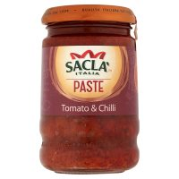 Sacla Italia intense tomato & chilli paste