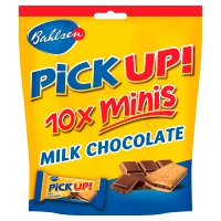 Bahlsen Pick Up! 10x Minis Milk Chocolate