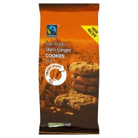 Traidcraft Fairtrade ginger cookies
