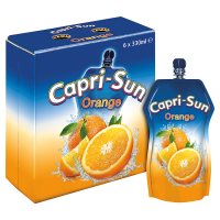 Capri-Sun orange juice drink