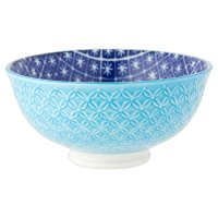 Waitrose Oriental Small Bowl Teal