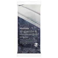 Waitrose granite & stainless steelwipes
