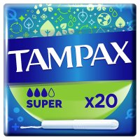 Tampax Super Applicator Tampon Single 20PK