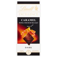 Lindt Excellence dark caramel & sea salt