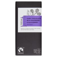 Waitrose 1 Dark Chocolate with Raspberry & Blackberry