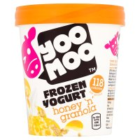 Yoo Moo Frozen Yogurt Honey 'n' Granola