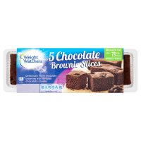 Weight Watchers Belgian chocolate slices