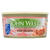 John West Skinless & Boneless Wild Pink Salmon