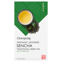 Clearspring Japanese green tea sencha 20 teabags
