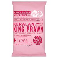 H.Bikers crisps keralan king prawn
