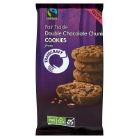 Traidcraft Fairtrade chocolate chunk cookies