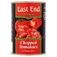 East End chopped tomatoes