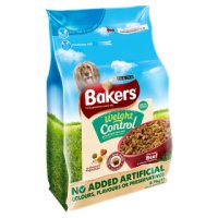 Bakers Complete beef, rice & vegetables weight control