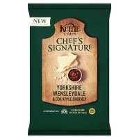 Kettle Chips Chef's Signature Wensleydale Apple