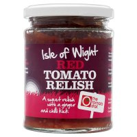 The Tomato Stall Isle of Wight red tomato relish
