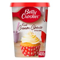 Betty Crocker cream cheese style icing