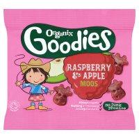 Organix Goodies Moos Raspberry & Apple