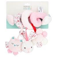 Waitrose Mini Pink Rabbit Activity Spiral