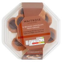 Waitrose 12 chocolate profiteroles