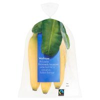 Waitrose Fairtrade 6 Bananas