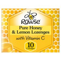 Rowse Pure Honey & Lemon Lozeneges