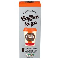 NESCAFE Azera Coffee To Go Latte 4 Cups
