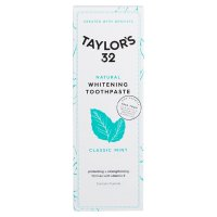 Taylor's 32 Natural Whitening Toothpaste Classic Mint