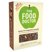 Food Doctor cacao & tangerine granola