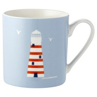 Waitrose Seaside Lighthouse Mug