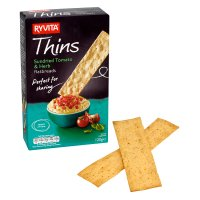 Ryvita Thins sundried tomato & herb